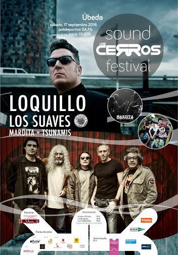 Presentado el cartel de los Cerros Sound Festival 2016